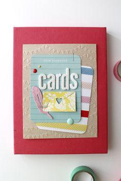 Incluso las tarjetas necesitan un hogar