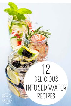 infused water, infused water recipes Looking for a healthy alternative to soda? Try one of these 12 Infused Water Recipes. Infused Water Recipes, Fruit Infused Water, Fruit Water, Infused Waters, Flavored Waters, Water Water, Yummy Drinks, Healthy Drinks, Healthy Snacks