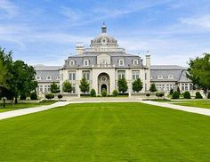 Champ d'Or Mansion in Denton is for sale. I think it's time for me to get out of my apartment and move here!