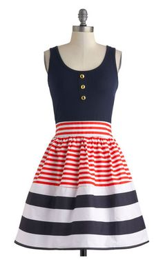 Patriotic party dress