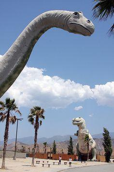 Cabazon Dinosaurs  Palm Springs, CA HWY10  http://www.cabazondinosaurs.com/