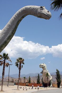 Cabazon Dinosaurs  Palm Springs, CA HWY10  http://www.cabazondinosaurs.com/