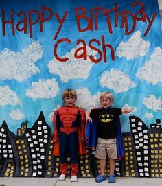 Party Frosting: Comic/Superhero party ideas/inspiration