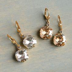 Catherine Popesco La Vie Parisienne crystal drop earrings