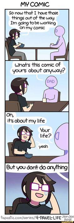 4-Panel Life - My comic