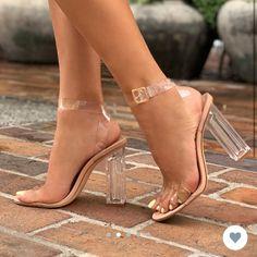 Fashion Nova Shoes & Fashion Nova Glass Slipper Heels Clear Heels & Color: Cream/White & Size: Source by theposhmarkapp Glass Heels, Clear Heels, Fashion Nova Shoes, Fashion Heels, Fashion Fashion, Classy Fashion, Color Fashion, Party Fashion, Designer Shoes