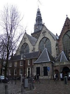 The Oude Kerk(Old Church) is the oldest remaining building in Amsterdam. It was constructed in the 13th century in Gothic style. The church was principally Chatolic, but after the reformation in 1578 is was adopted by the protestants. The Oude Kerk is located in De Wallen, the main red-light district in Amsterdam.
