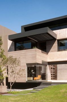 Onderverdieping met niveauverschil - aansluitend bovenaan Terras. ML House by Gantous Arquitectos (6)