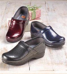 Dansko® Professional XP Anaconda Patent Leather Clogs