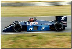 Piercarlo Ghinzani F1 Ligier JS29B Megatron 1987 British GP Silverstone