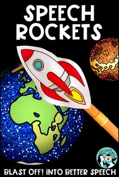 Have a BLAST in speech therapy with paper rockets & articulation targets!  Outer space theme. 8 planets per phoneme.