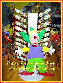 Otro megakiosco lleno de golosinas personalizadas y cositas dulces. Una super produccion de Dulces Kioscos para Fiestas. Que lo disfruten...