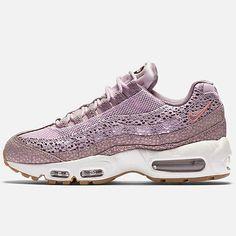 Nike Air Max 95 Premium Womens 807443-500 Plum Fog Lilac Running Shoes Size 8.5