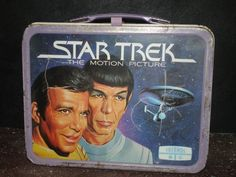 1979 metal Star Trek lunch box