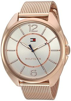 Tommy Hilfiger Womens Quartz Gold Automatic WatchModel 1781697 *** Be sure to check out this awesome product. (Note:Amazon affiliate link) #CoolandAffordableWatches
