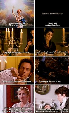 Actual Commentary by Emma Thompson - Sense and Sensibility (1995)