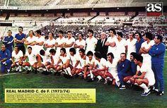 REAL MADRID 1973-74