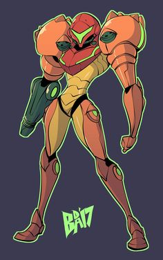 Samus Aran by BigDeadAlive Metroid Samus, Metroid Prime, Samus Aran, Hack And Slash, Video Game Art, Video Games, Character Art, Character Design, Saga
