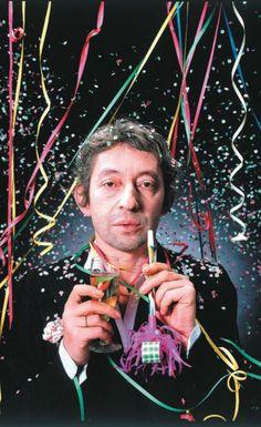 Serge Gainsbourg by Jean-Baptiste Mondino