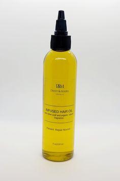 Infused Hair Oil - 4 oz