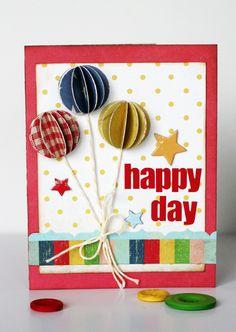 card.. balloons