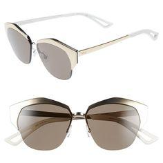 5c0fabeb54b4 Dior  Mirrors  55mm Cat Eye Sunglasses Italian Sunglasses