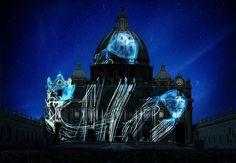 Le culture del mondo proiettate su facciata San Pietro - FOTO