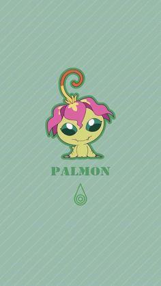 Palmon chibi. Sincerity . Digimon Adventure Tri.