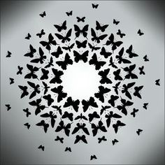 Design Example of radial balance Animal and Bird Moths to a Flame stencils, stensils and stencles Principles Of Design Harmony, Principles Of Art Balance, Elements And Principles, Elements Of Design, Radial Balance, Balance Art, Balance Design, Butterfly Stencil, Bird Stencil