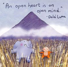 """dalailama,heart-""""An open heart is an open mind."""" Dalai Lama (repost from buddhadoodles) quotes dalailama heart openheart buddha doodle mind Tiny Buddha, Little Buddha, Buddha Buddha, Buddha Wisdom, Mindfulness Quotes, Mindfulness Meditation, Dalai Lama, Buddah Doodles, Buddha Thoughts"""