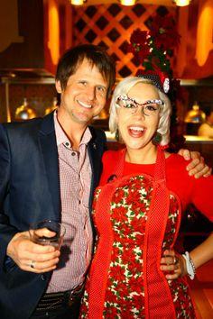 Retro Rad Holiday Entertaining with Emily Ellyn at #RosenShingleCreek   Pinned by Rosen Hotels   #RosenHotels #holidays #celebrity #christmas