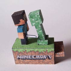 Printable Minecraft Paper Machine!