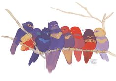 All the little bats sitting in a tree  C-U-D-D-L-I-N-G.