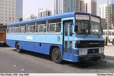 Ashok-Leyland bus