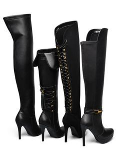 over the knee boots - winter shoes - Inverno 2015 - Ref. 15-4808   15-4803   15-6205   15-6203