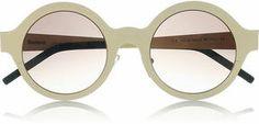 Illesteva Frieda round-frame steel sunglasses sur shopstyle.fr