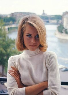 Jane Fonda by Willy Rizzo; Paris, 1963
