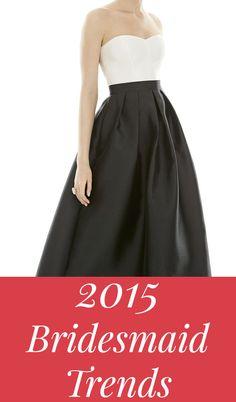 2015 Bridesmaid Dresses & Trends