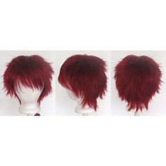 11/'/' Short Messy Spiky Steel Blue Synthetic Cosplay Wig NEW