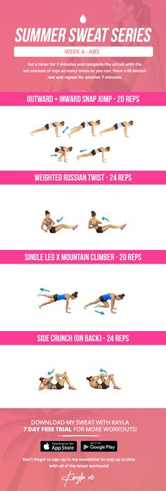 Work up a sweat with this BBG-style free arm workout. This BBG Home Workout Challenge will definitely get your heart racing! Bbg Training, Training Fitness, Mental Training, Sport Fitness, Kayla Fitness, Fitness Equipment, Training Equipment, Marathon Training, Yoga Equipment