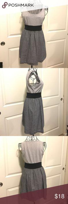 BeBop Grey/Black Color Blocked Dress BeBop Grey/Black Color Blocked Dress BeBop Dresses Midi
