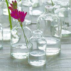 small bottle vase by lindsay interiors | notonthehighstreet.com