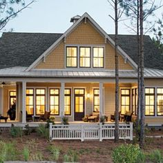 Top 12 Best-Selling House Plans: #10 Tucker Bayou, Plan #1408