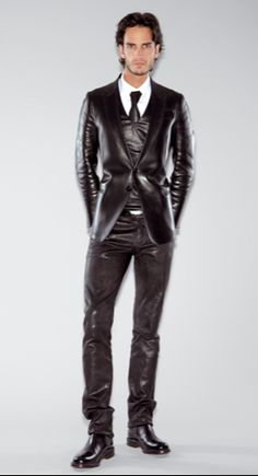 leather suit
