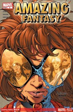 AMAZING FANTASY (2004) #6  Published: November 24, 2004  Added to Marvel Unlimited: November 13, 2007  Rating: MARVEL PSR  Writer: Fiona Avery   Penciller: Mark Brooks   Cover Artist: Mark Brooks   PART 6 (OF 6)   It's the end of the origin of Anya Corazon - and a new beginning. But, first, the question on everyone's mind: what's the public identity of Marvel's newest media darling?
