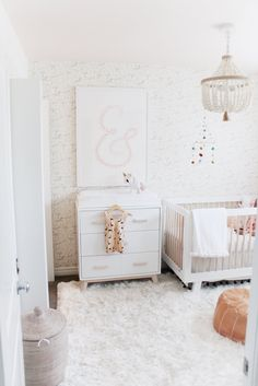 Chic Black And White Nursery | Modern Nurseries, Project Nursery And Nursery