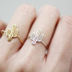 Hey it's a cactus ring! 😂Cactus Ring, Cacti Tree Ring In 3 C Cute Jewelry, Bridal Jewelry, Jewelry Rings, Jewelry Accessories, Women Jewelry, Cheap Jewelry, Jewelry Shop, Fashion Jewelry, Cute Rings