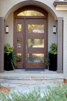 Fresh, modern front door design | DOORS | Pinterest | Front door ...