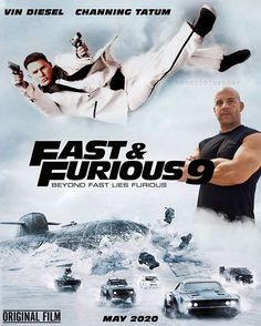 Fast And Furious 9 English Movies Online Free, Hindi Movies Online, Movie Fast And Furious, Furious Movie, Alita Movie, Capas Dvd, Latest Hollywood Movies, Dominic Toretto, Posters