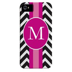 Chevron Monogrammed iPhone 5 Case at Joss & Main--if I had an iPhone 5 I would be rockin this case!